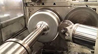Ryertex® Forming Rollers for Soft Metal Spinning Equipment